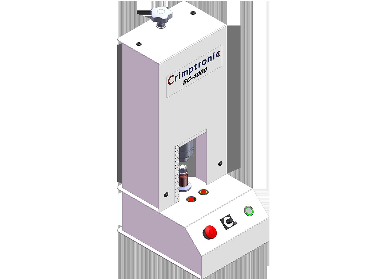 Elektrische Schraubverschlussstation : SC-4000