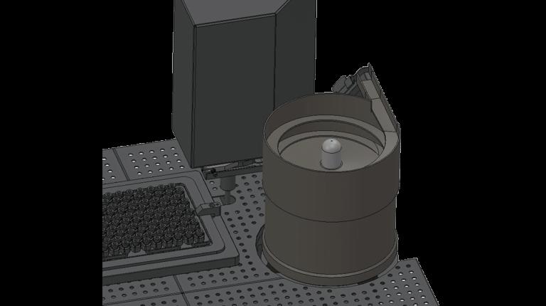 CR-7000_zoom_Universelle und kompakte Rütteltopf